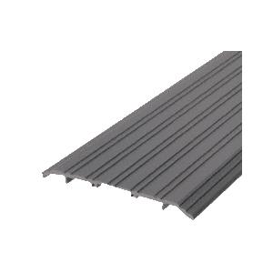 "CRL TH017D72 Dark Bronze 7"" x 1/2"" Saddle Aluminum Threshold - 73"" in Length"