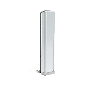 "CRL D990A12C Satin Anodized 12"" Center Design Series Partition Post"