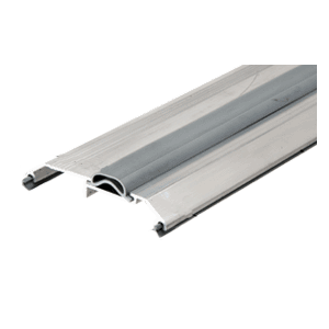 """CRL TH006AV72 Aluminum 72"""" Saddle Threshold With Vinyl Cap 3-1/4"""" Wide 3/4"""" High"""