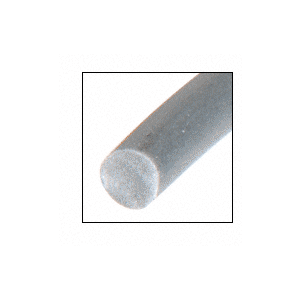 "CRL SS090C .090"" Gray Screen Retainer Spline - 100'/Roll"