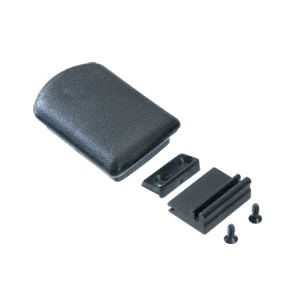 CRL DVL4AD Replacement Plastic Self-Latching Latch for CRL Tri-Vent Sliders With Latch Base and Adhesive