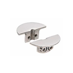 CRL Y033CR Brush Stainless Drill-Thru Shelf Support