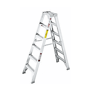 CRL 7506 6' Heavy-Duty Aluminum Ladder