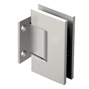 CRL GEN074SN Satin Nickel Geneva 074 Series Wall Mount Short Back Plate Hinge