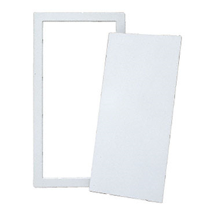 "CRL AP1429 White 14"" x 29"" All Purpose Access Panel"