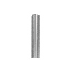 "CRL PP0824ABS Brushed Stainless 24"" Round PP08 Elegant Series Counter/Partition 135 Degree Post"