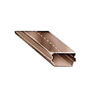 "CRL 3455590 3/16"" Dark Bronze Low Profile Dual Seal Spacer 152"" Stock Length"