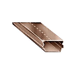"""5/8"""" Dark Bronze Low Profile Dual Seal Spacer 152"""" Stock Length"""