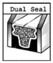 "CRL 3455596 5/8"" Dark Bronze Low Profile Dual Seal Spacer 152"" Stock Length"