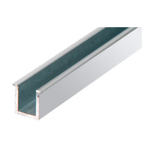 """CRL 1N06CH Brite Anodized 6mm Replacement 36"""" Snap-In Filler Insert for Junior Headers"""