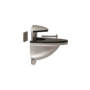 CRL DL661BN Brushed Nickel Heavy-Duty Adjustable Shelf Bracket