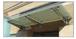 "CRL GAB48BS Brushed Stainless 48"" Universal Wall Mounted Glass Awning Bracket"