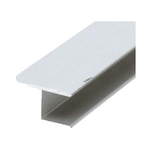 "CRL WSHB7A Mill 7/16"" Extruded Aluminum Splicing Bar - 144"" Stock Length"