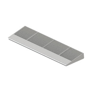 CRL 77103 Metallic Silver 10' 7700 Series Aluminum Sunshade Systems