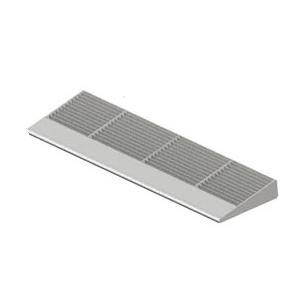 CRL 7763 Metallic Silver 6' 7700 Series Aluminum Sunshade System