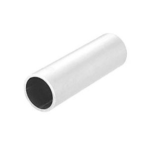 "CRL PR15M Mill Aluminum 1-1/2"" Schedule 40 Pipe Rail Tubing - 240"""