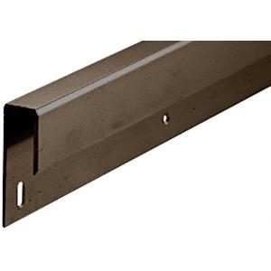 """Bronze Anodized 1/4"""" Deep Nose Aluminum J-Channel"""