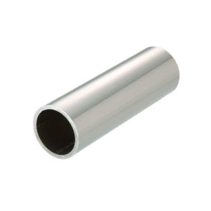 "CRL PR15PS20 Polished Stainless 1-1/2"" Schedule 40 Pipe Rail Tubing - 240"""