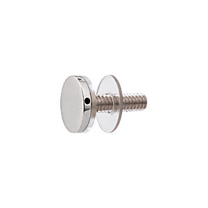 """CRL CAP34PS 316 Polished Stainless 3/4"""" Diameter Standoff Cap Assembly"""