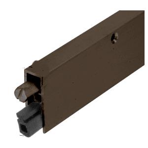 """Dark Bronze Anodized Commercial Medium-Duty Automatic Door Bottom for 36"""" Door"""
