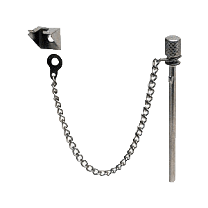 CRL S4011 Zinc Plated Sliding Window and Door 'Nite-Lock' Pin