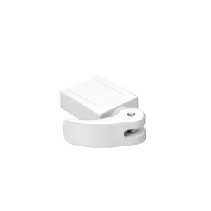 CRL S4574 White Vinyl Window Lock - pack of 2