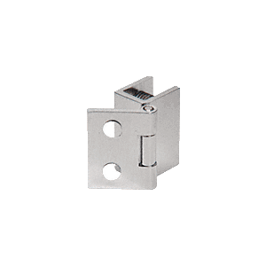 "CRL EH173 Brushed Nickel 1"" Wall Mount Set Screw Hinge"