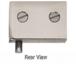 CRL EH225 Brushed Nickel Glass Door Pivot Hinges