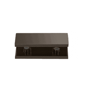 CRL NDC40RB Oil Rubbed Bronze No-Drill Fixed Panel Glass Clamp