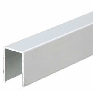 """CRL 3602A Satin Anodized Series 3602 Upper Jamb Channel - 144"""""""