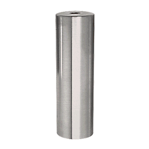"""316 Brushed Stainless 1"""" Diameter by 4"""" Long Standoff Base"""