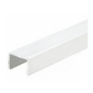 CRL 3601W White Series 3601 Side Jamb Channel - 144""