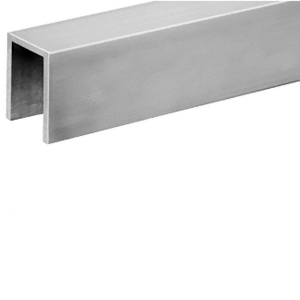 CRL GRLC10BS Brushed Stainless Crisp Corner 11 Gauge Cap Railing