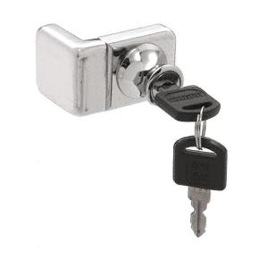 CRL UV4071CH Chrome UV Glass Door Lock for Inset Doors