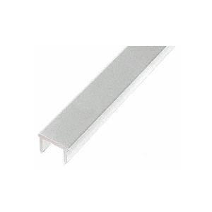 """CRL PF72S Metallic Silver 72"""" Glass Barrier Post Filler"""