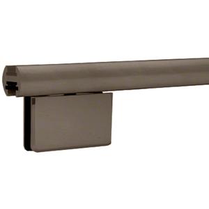 """CRL EHK980RB Oil Rubbed Bronze 95"""" EZ-Adjust Shower Door Header Kit"""