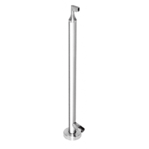 "CRL CR42EKPS Polished Stainless 42"" CRS Stainless Steel End Post Kit"