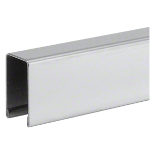 "CRL GRUC5PS10 Polished Stainless U-Channel Cap for 1/2"" or 5/8"" Glass"