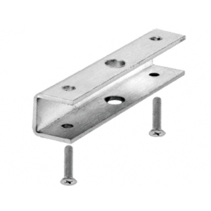 Brushed Stainless Wall Mounted Hand Rail Bracket Saddle Adapter