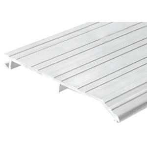 "CRL 255A185 Aluminum 5"" x 1/2"" Offset 185"" Long Saddle Threshold"
