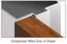 CRL SW250BL17 Black Self-Adhesive Weatherstrip - 17' Roll