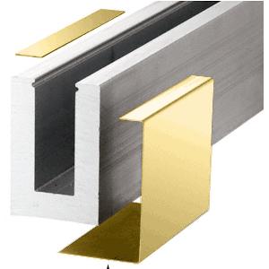 Polished Brass B5A Series Outside Fascia Cladding