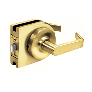 Polished Brass Grade 1 Lever Lock Housing - Passage
