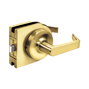 Polished Brass Grade 2 Lever Lock Housing - Passage