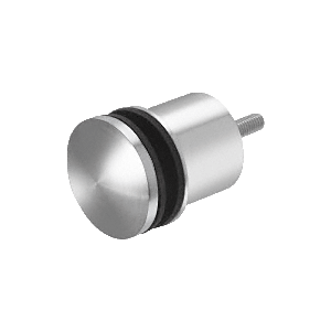 "Polished Stainless 2-3/8"" RSOB Replacement Standoff Dome Cap Assembly"