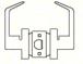 CRL LH15SA Satin Anodized Grade 2 Lever Lock Housing - Passage