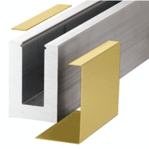 Satin Brass B5A Series Outside Fascia Cladding