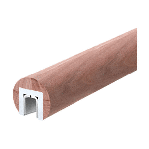 """Walnut 346 Series 2"""" Wood Cap Rail"""