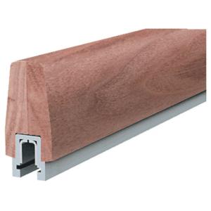 Walnut 372 Series Wood Cap Rail