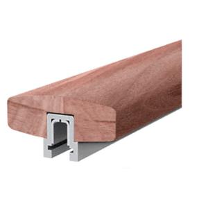 Walnut 373 Series Wood Cap Rail